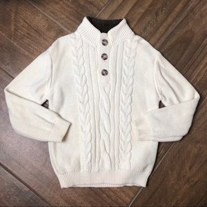 Cherokee boys chunky cable knit sweater 5T